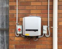 Sungrow Inverter Installation on Brick Wall